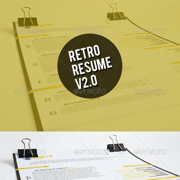 Retro Resume V2.0
