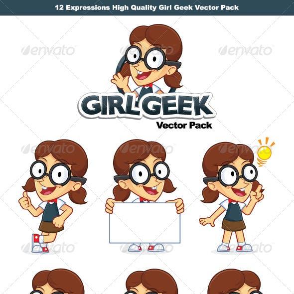 Girl Geek Vector Pack