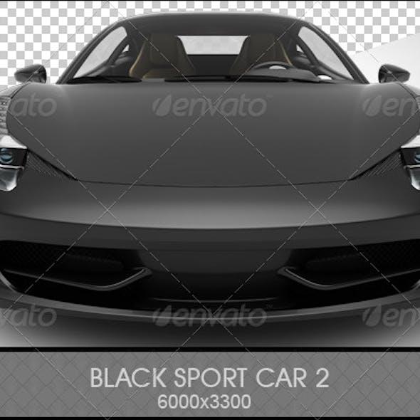 Black Sports Car 2