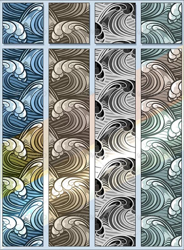 Seamless Wave Pattern - Patterns Decorative