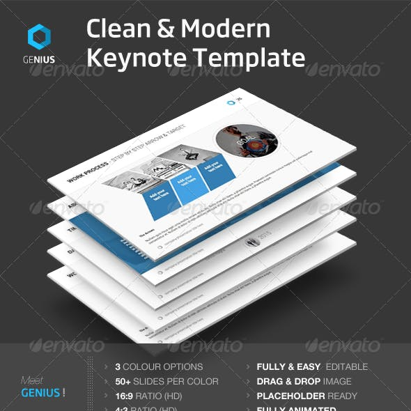 Genius - Keynote Template