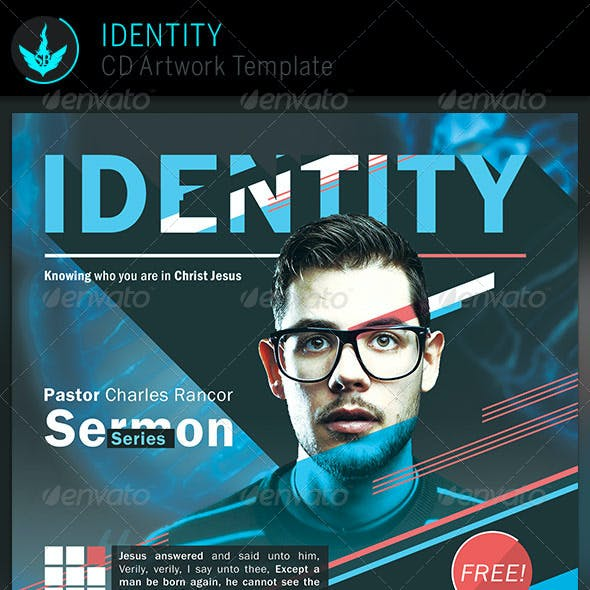 Identity: CD Artwork Template
