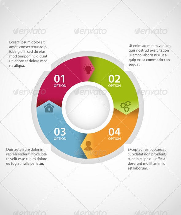 Circle Infographic Template - Infographics