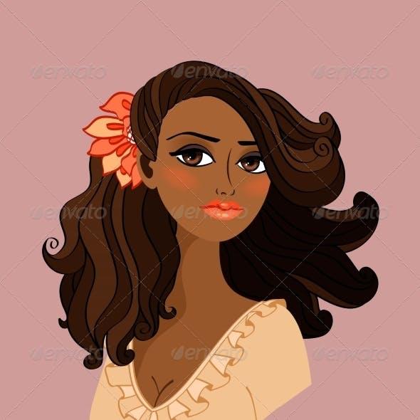 Black Woman Portrait