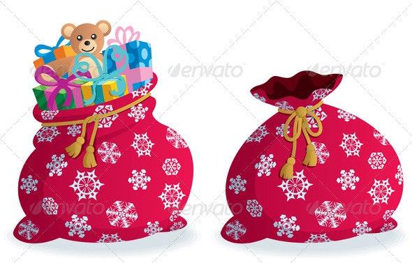 Santa's Sack - Christmas Seasons/Holidays