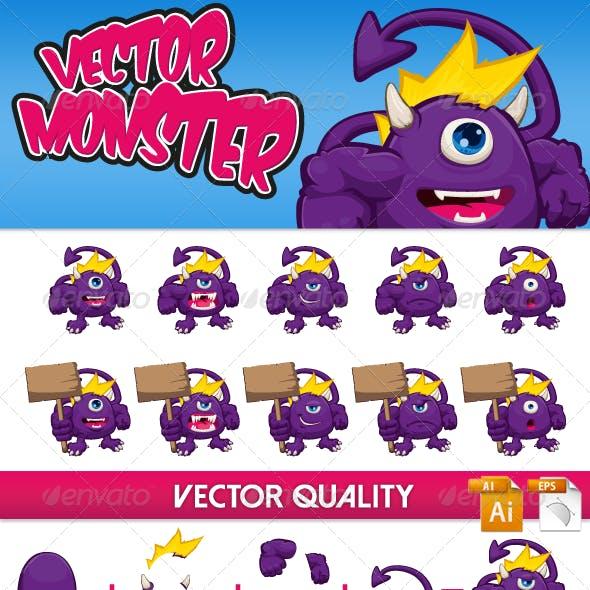 Vector Monster Character Kit