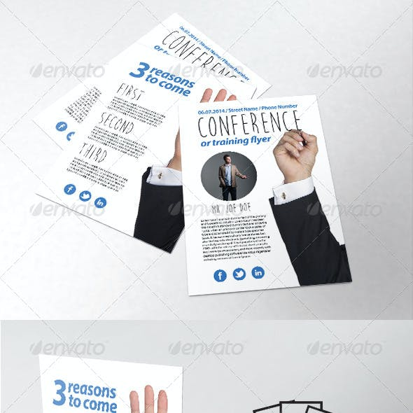 Business / Training / Course Flyer Template