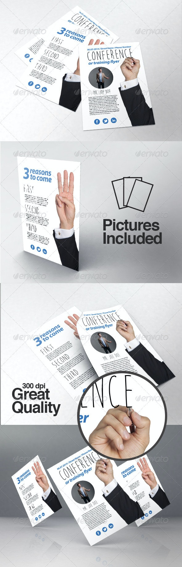 Business / Training / Course Flyer Template - Corporate Flyers