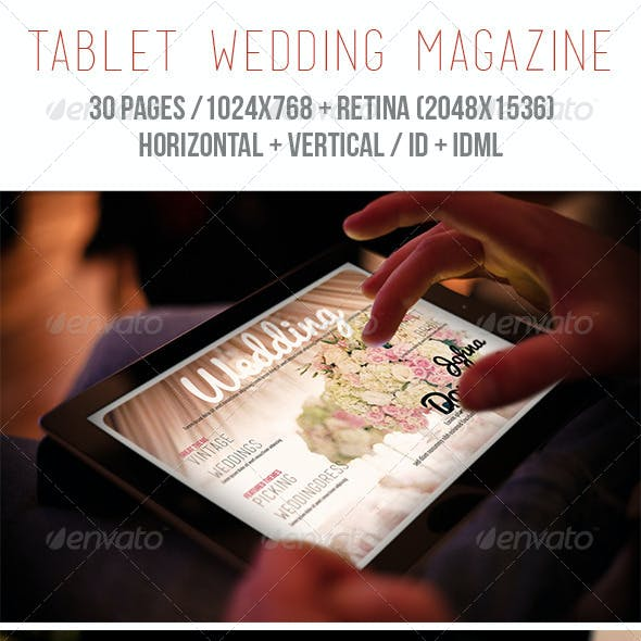 iPad & Tablet Wedding Magazine