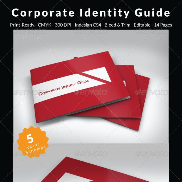 Corporate Identity Guide Template