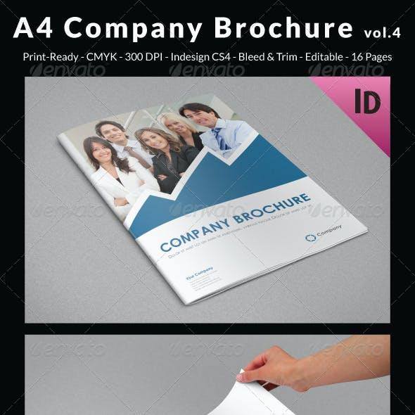 A4 Company Brochure vol.4