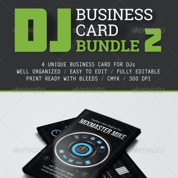 DJ Business Card Bundle 2