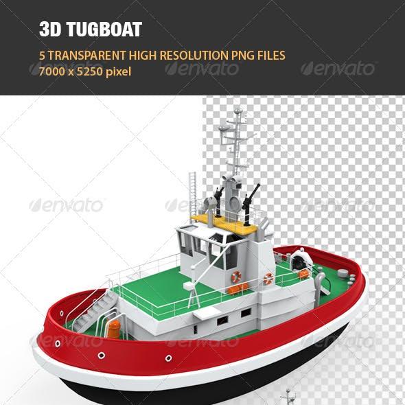 3D Tugboat