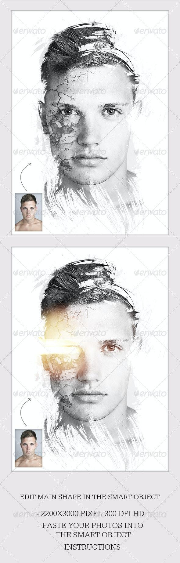 Dream Photo Template Sci-Fi - Artistic Photo Templates