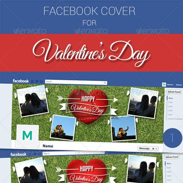 Facebook Cover for Valetine's Day
