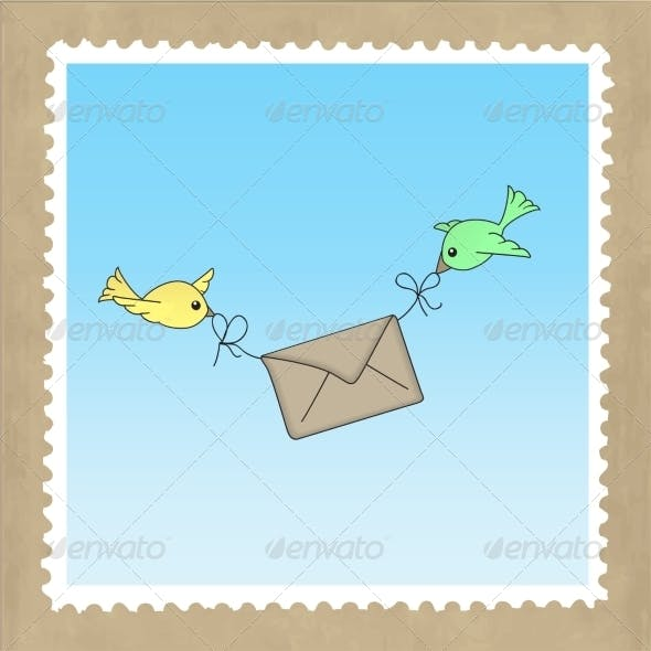 Birds Delivering Mail