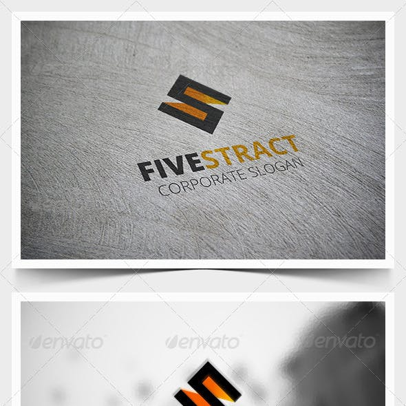 Fivestract Logo Template