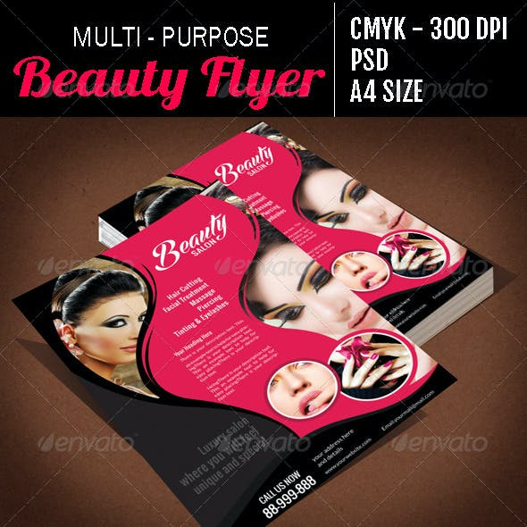 Multi Purpose Beauty Flyer