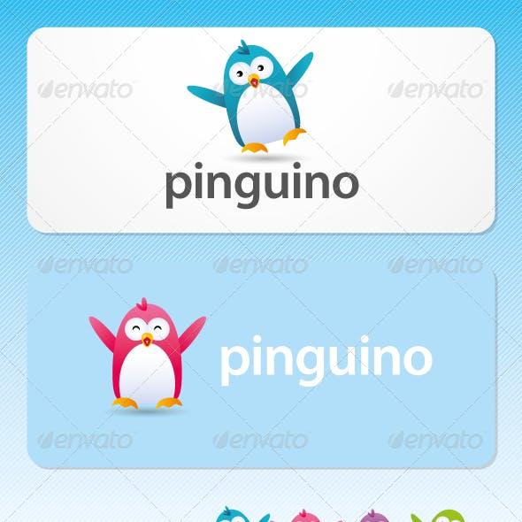 Pinguino - Mascot Logo
