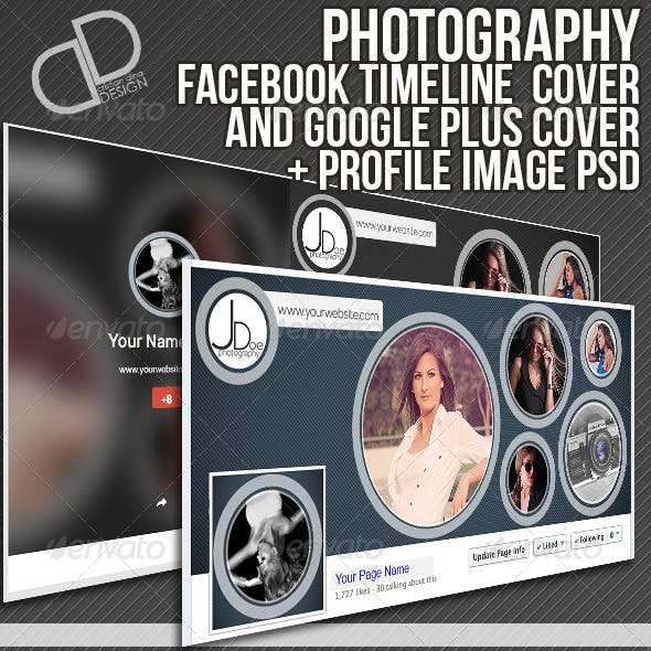 Facebook Timeline and Google Plus Cover