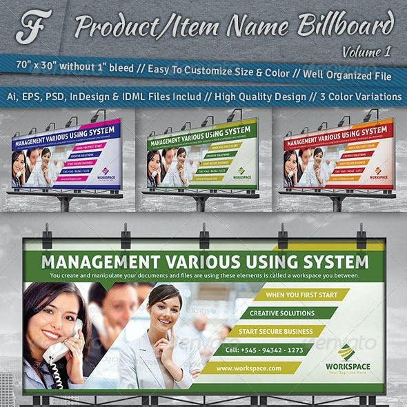 Workspace Billboard