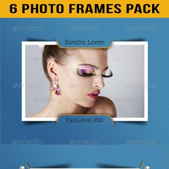 Photo Frames Pack 11