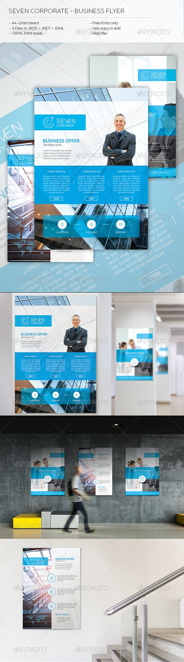Seven Corporate - Business Flyer - Corporate Flyers