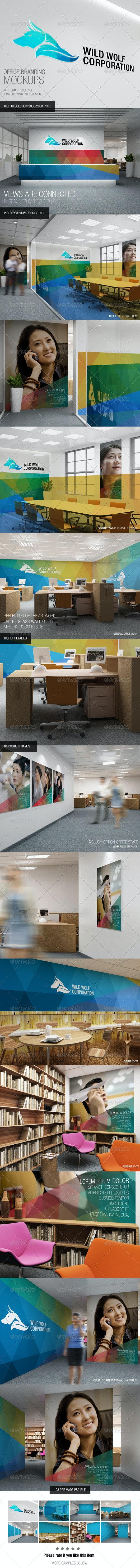 Office Branding Mockups - Logo Product Mock-Ups