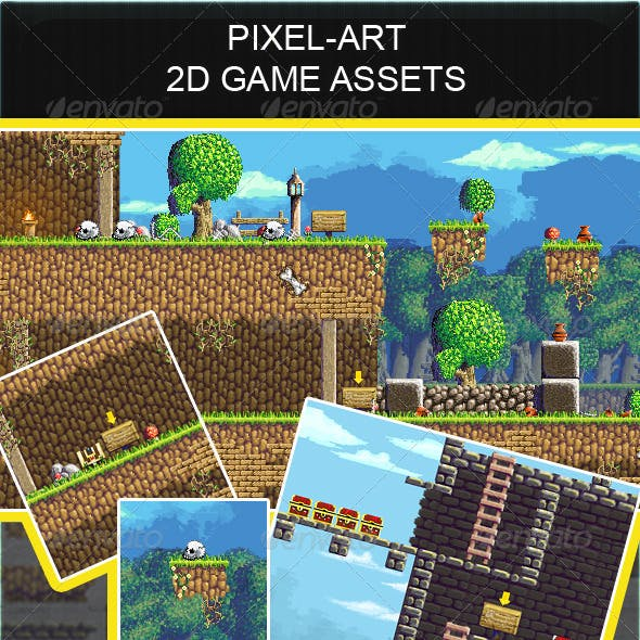 2d Pixel Art Game Assets