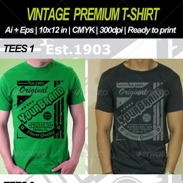 Vintage Premium T-shirt
