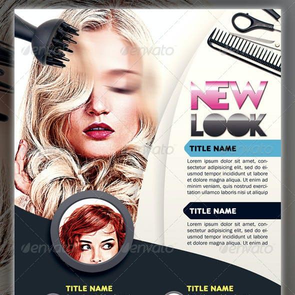 New Look Hair Flyer
