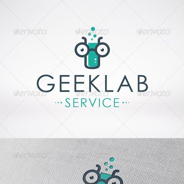 Geek Lab Logo Template