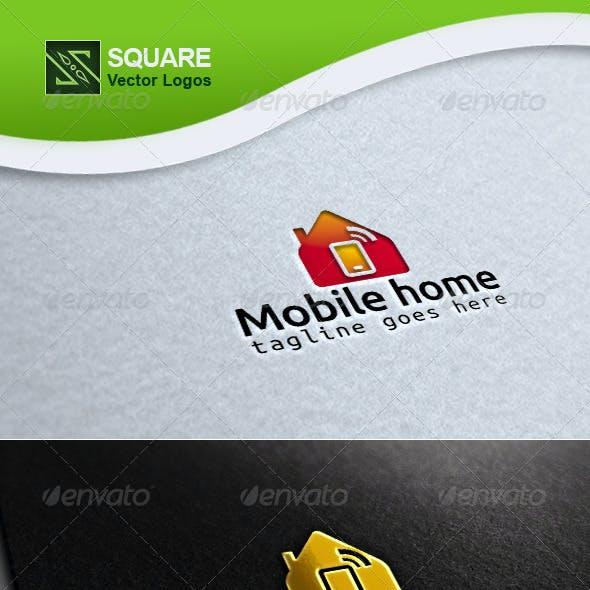 Mobile, Home Vector Logo Template