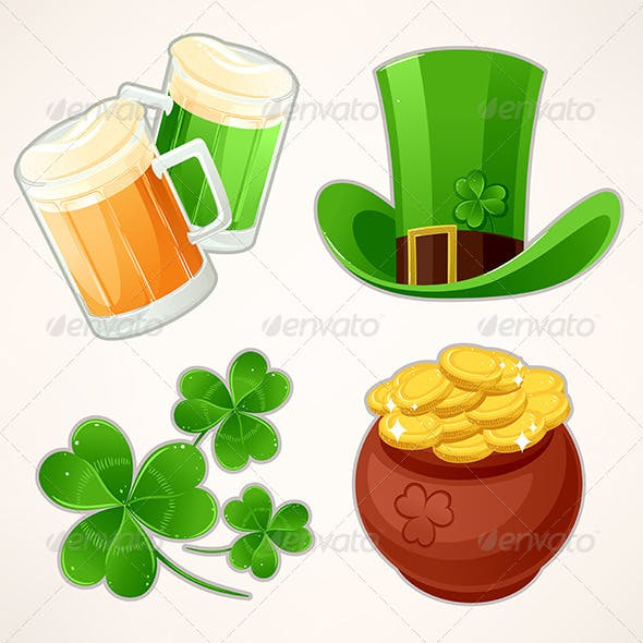 Icons to St. Patrick's Day