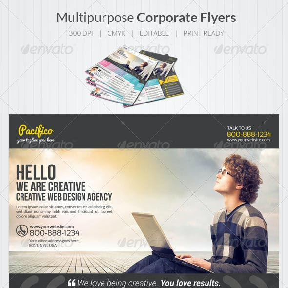 Design Agency Flyers