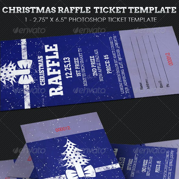 Raffle Graphics, Designs & Templates from GraphicRiver