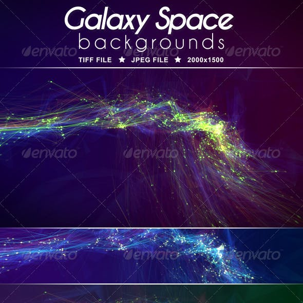 Galaxy Space Background