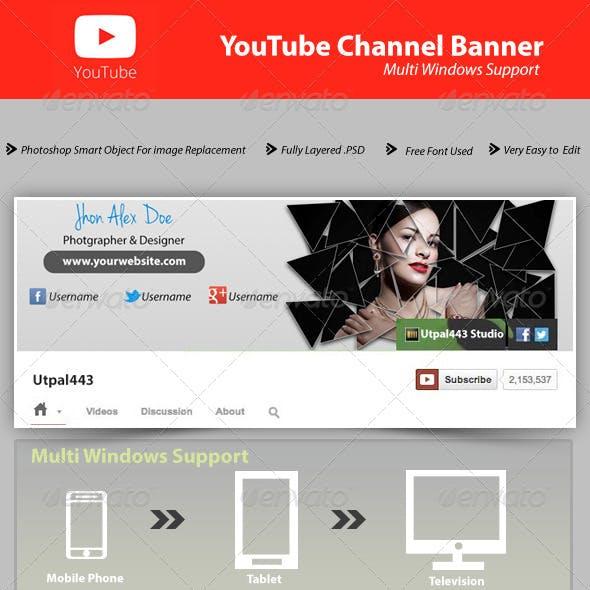 Youtube Channel Banner V1