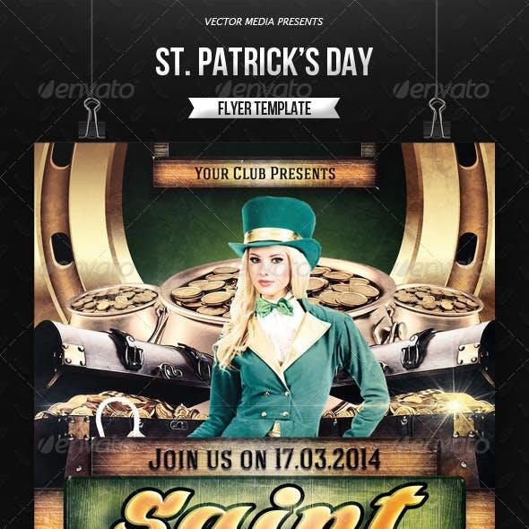 Saint Patrick's Day - Flyer