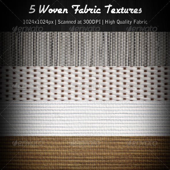 5 Woven Fabric Textures