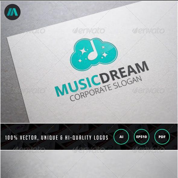 Music Dream Logo Template