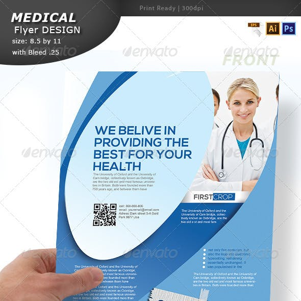 Medical Flyer Design