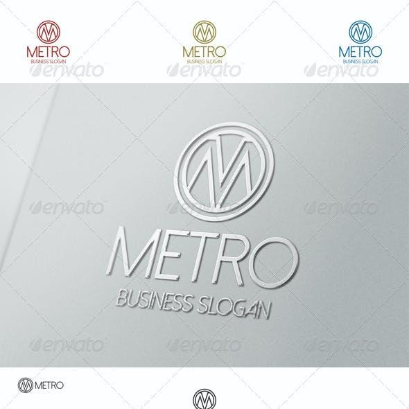 Metro Logo M Letter