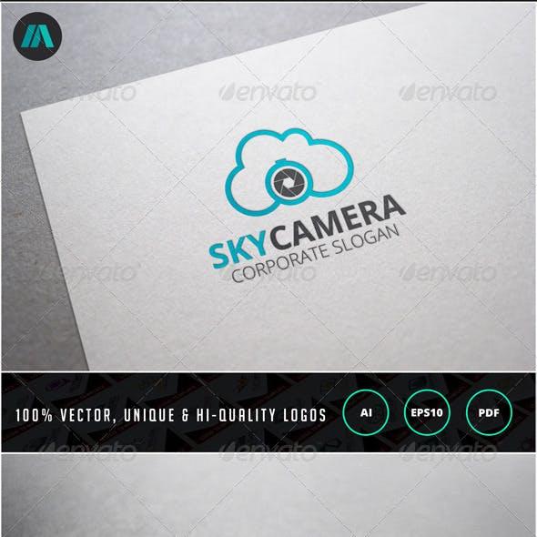Sky Camera Logo Template