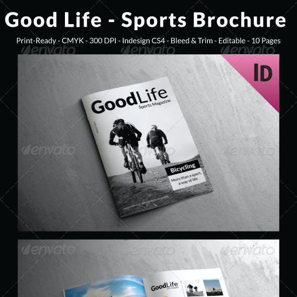 Good Life - Sports Brochure