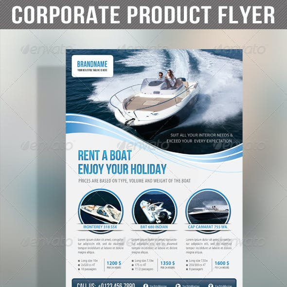 Corporate Product Flyer 58