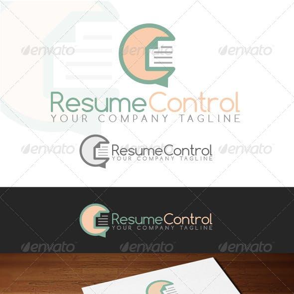 Resume Control Logo