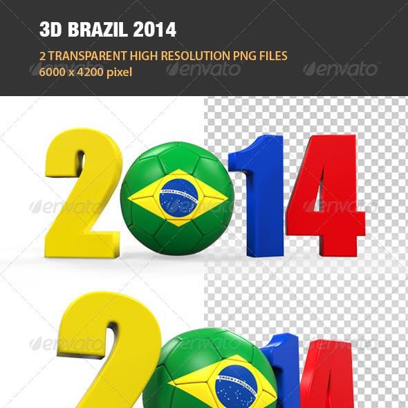 3D Brazil 2014