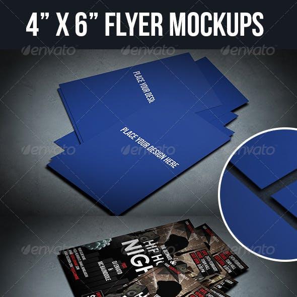 Two 4x6 Flyer Mock-ups