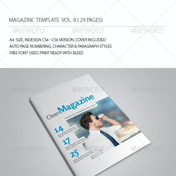 29 Pages Simple Magazine Vol8